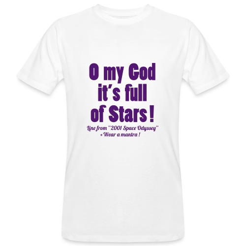 FULL OF STARS - T-shirt ecologica da uomo