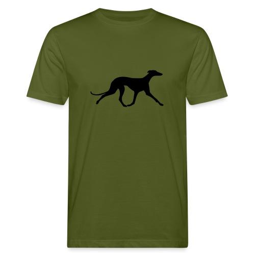 Galgo trabend - Männer Bio-T-Shirt