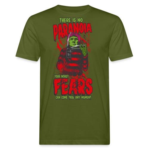 There is no paranoia - Økologisk T-skjorte for menn