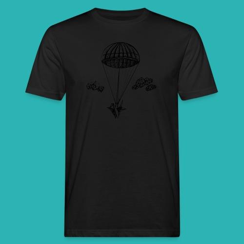 Veleggiare_o_precipitare-png - T-shirt ecologica da uomo