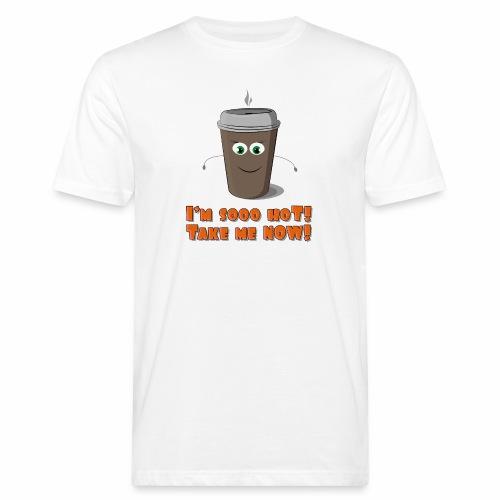 Coffee to go - Ekologiczna koszulka męska