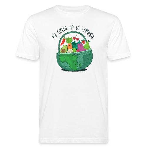 Mi cesta de compra - Camiseta ecológica hombre