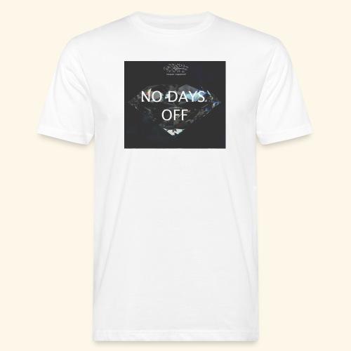 No Days Off - T-shirt ecologica da uomo