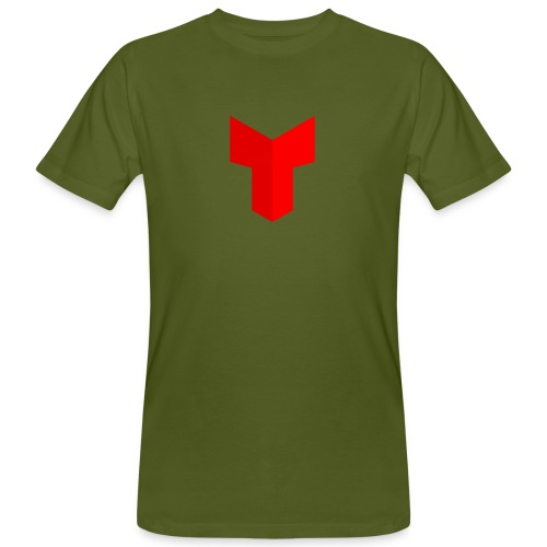 redcross-png - Mannen Bio-T-shirt