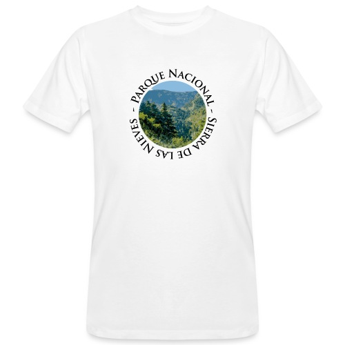 Parque Nacional Sierra de las Nieves - Camiseta ecológica hombre