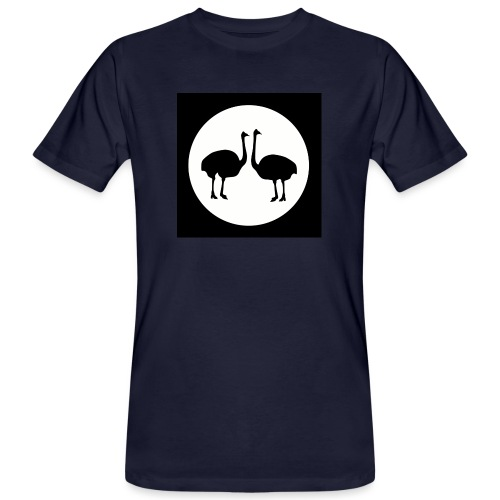 Strauß - Männer Bio-T-Shirt