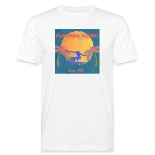 Summer vibes - Camiseta ecológica hombre