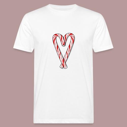 Sucre d'orge en forme de coeur - T-shirt bio Homme