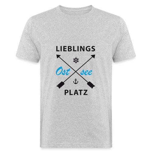 Lieblingsplatz Ostsee - Männer Bio-T-Shirt
