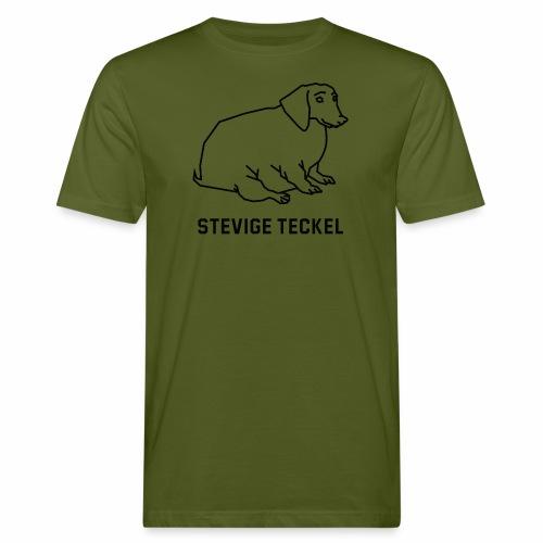 Stevige Teckel - Mannen Bio-T-shirt