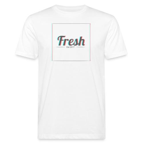 Fresh 3D logo - Men's Organic T-Shirt