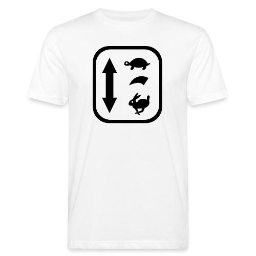 traktor schaltung - Männer Bio-T-Shirt