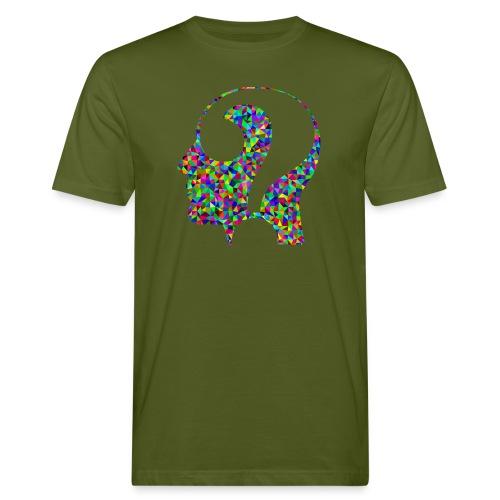 Fragender Kopf - Männer Bio-T-Shirt