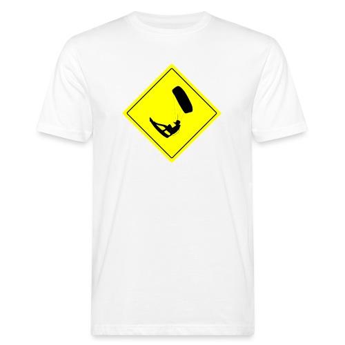 Kiteboarder - Ekologiczna koszulka męska