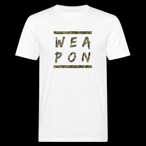 Weapon Camo - Men's Organic T-Shirt