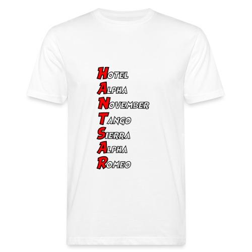 HANTSAR - Phonetic - Men's Organic T-Shirt
