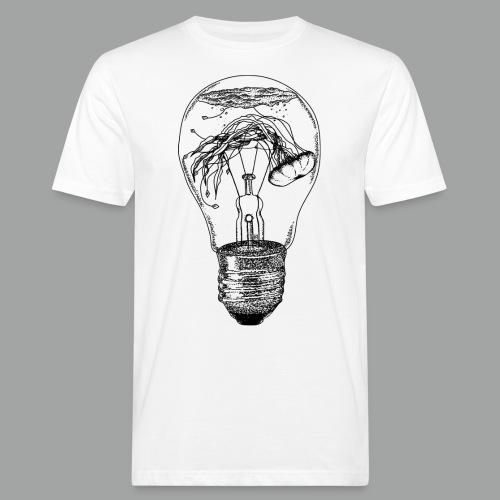 Electric Jellyfish - Männer Bio-T-Shirt