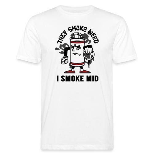 THEY SMOKE WEED I SMOKE MID CS:GO - Men's Organic T-Shirt