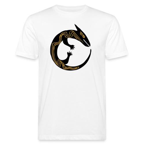 lizard - T-shirt ecologica da uomo