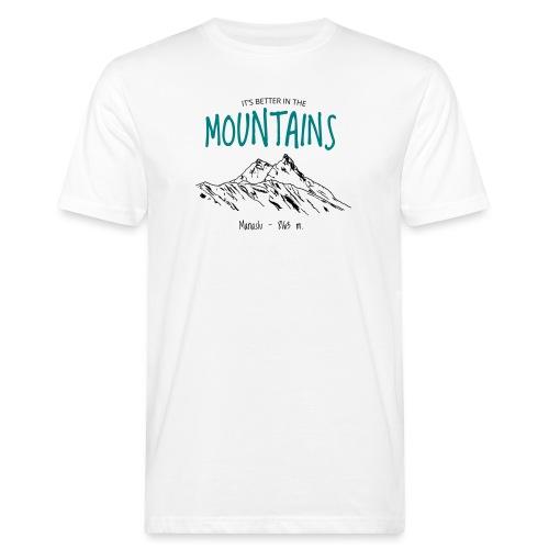MANASLU - T-shirt ecologica da uomo