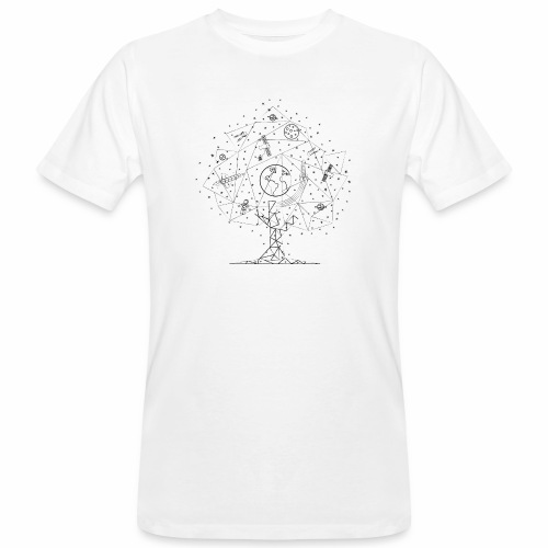 Interpretacja woodspace - Ekologiczna koszulka męska