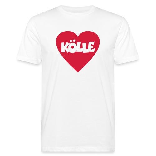 I Love Kölle - Ein Herz für Köln - Männer Bio-T-Shirt