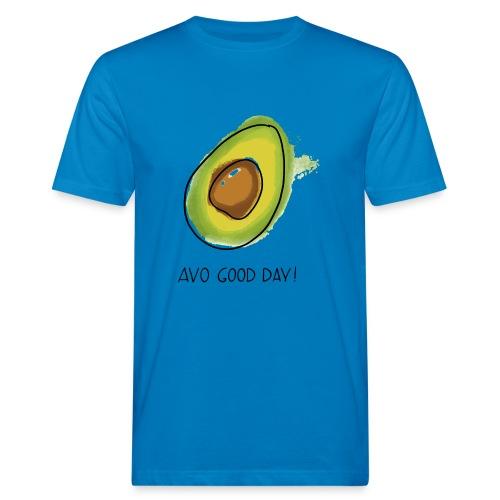 Fruit Puns n°2 Avo Good Day, Avocado - Männer Bio-T-Shirt