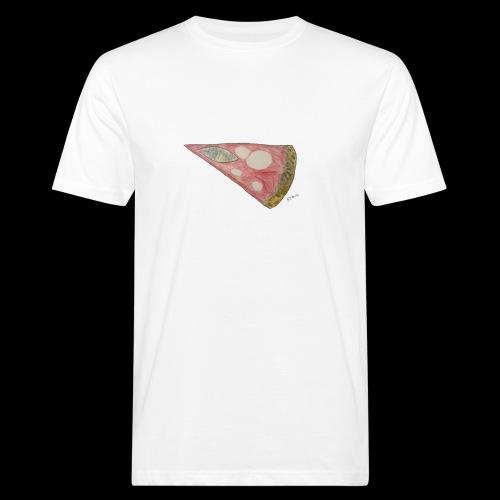 BY TAiTO Pizza Slice - Miesten luonnonmukainen t-paita