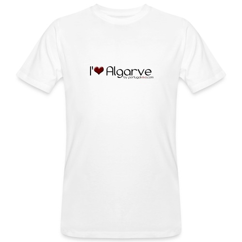 I Love Algarve - T-shirt bio Homme