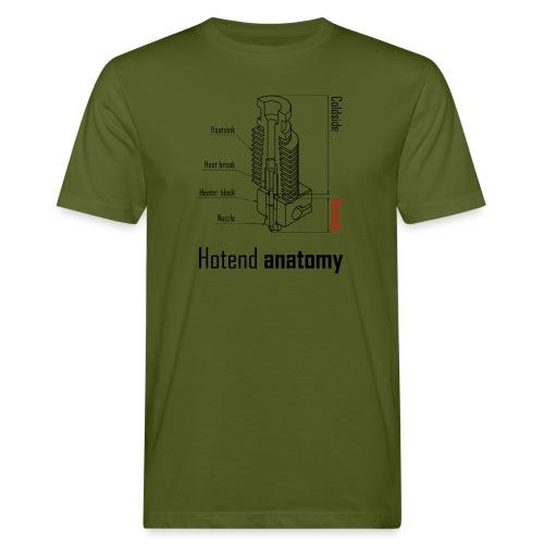 Hotend anatomy - Men's Organic T-Shirt