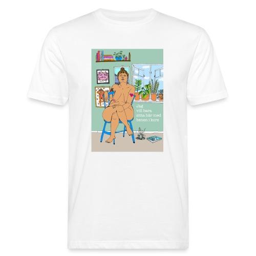 Benen i kors - Ekologisk T-shirt herr