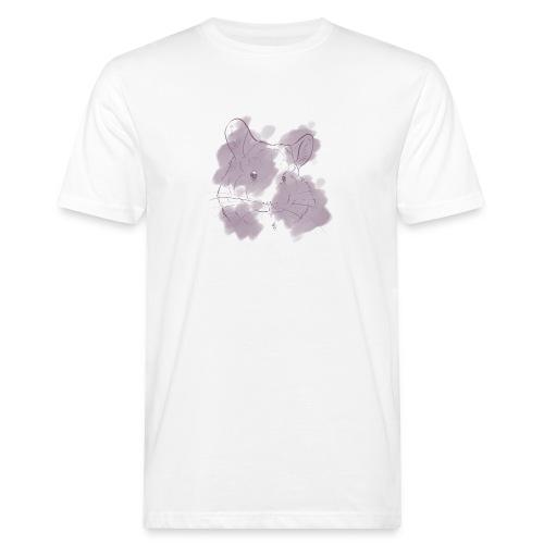 Violet splash chinchilla 2 - Miesten luonnonmukainen t-paita