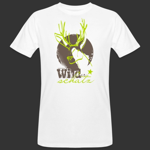 Wilder Schatz - Männer Bio-T-Shirt