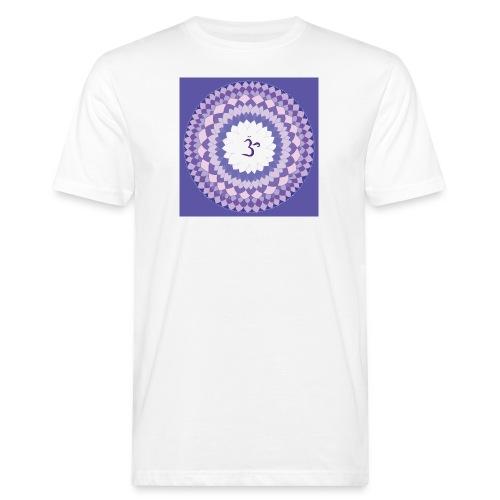 Sahasrara - Crown Chakra - Miesten luonnonmukainen t-paita