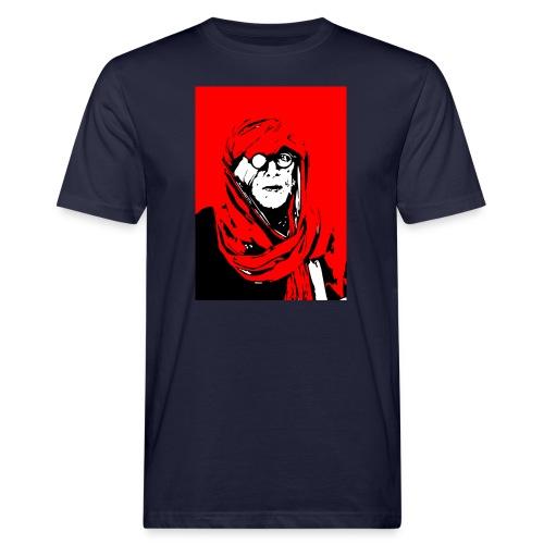 L'homme rouge représente la terre rouge d'Afrique. - T-shirt bio Homme