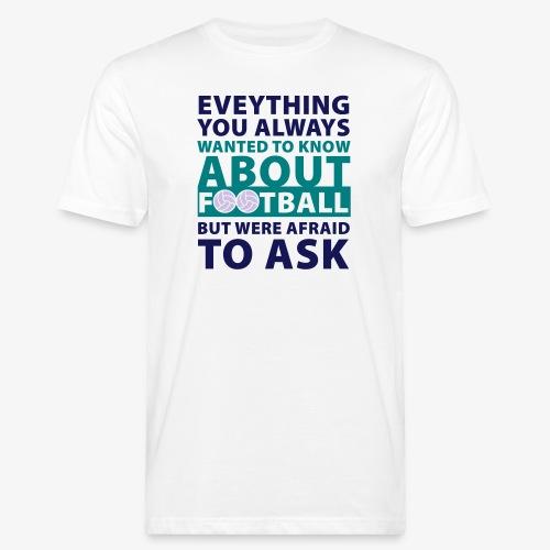 Todo sobre el fútbol - Camiseta ecológica hombre