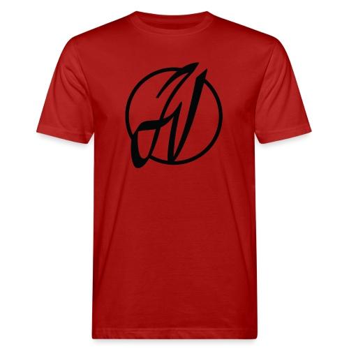 JV Guitars - logo noir - T-shirt bio Homme