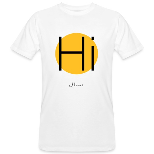 Hi circle - Men's Organic T-Shirt