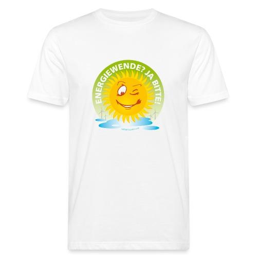 Energiewende? Ja bitte! - Männer Bio-T-Shirt