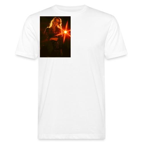 Lichtreflexion - Männer Bio-T-Shirt