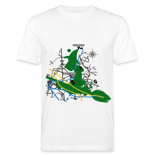 Bois de Stambruges (Plan) - T-shirt bio Homme