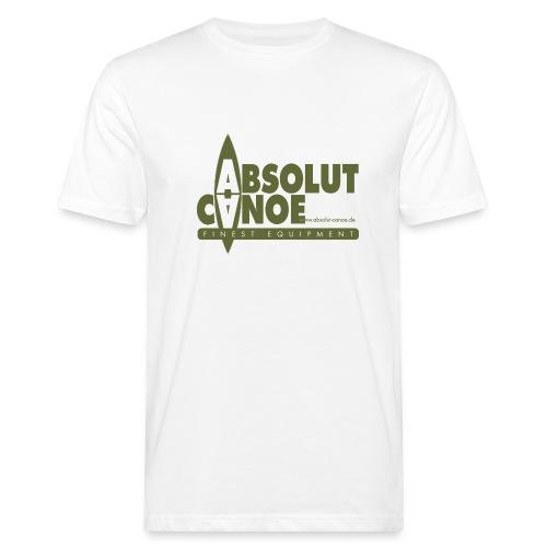 absolut canoe - Männer Bio-T-Shirt