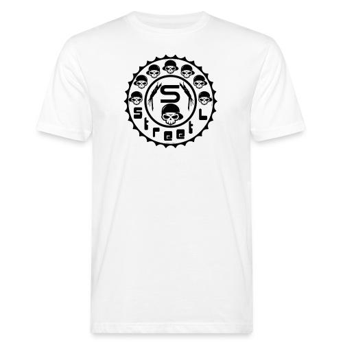 rawstyles rap hip hop logo money design by mrv - Ekologiczna koszulka męska