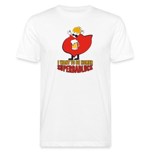superbadluck - HOMER - T-shirt ecologica da uomo