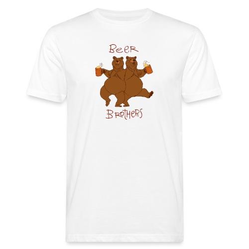 BEER BROTHERS - Ekologiczna koszulka męska