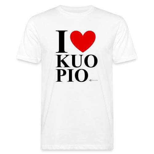 I LOVE KUOPIO ORIGINAL (musta) - Miesten luonnonmukainen t-paita