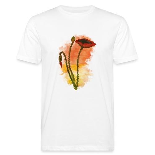 Papaveri Limited Edition - T-shirt ecologica da uomo
