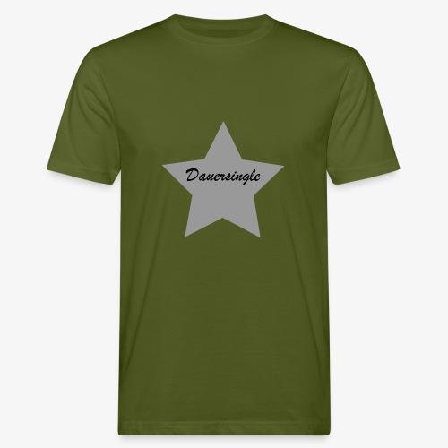 Dauersingle - Männer Bio-T-Shirt
