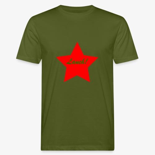 Lauch - Männer Bio-T-Shirt