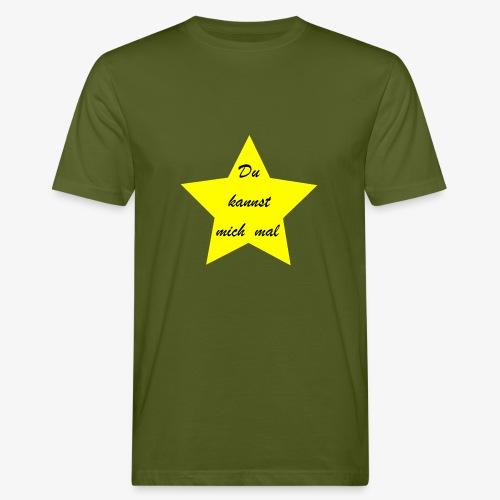 Du kannst mich mal - Männer Bio-T-Shirt